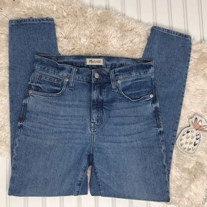 """Madewell 9"""" High Riser Skinny Jeans Size 27"""